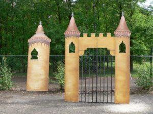 Poort en toren in Arabische stijl - Poort en toren in Arabische stijl