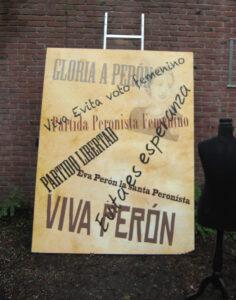 Eva Perón affiche - Eva Péron affiche