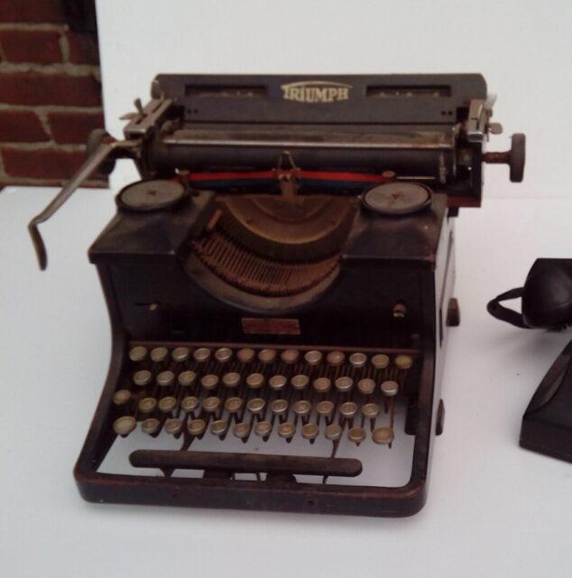 Ouderwetse typemachine - Ouderwetse typemachine