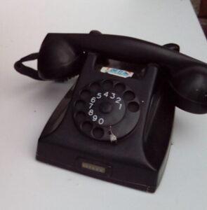 Ouderwetse telefoon - Ouderwetse telefoon