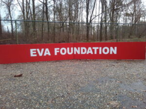Grote banner Eva Foundation - Grote banner Eva Foundation