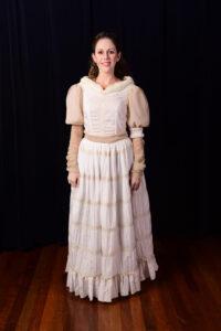 Ouderwetse jurk voor een spook -