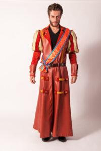 Elitaire middeleeuwse herenjas -