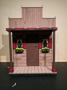 Multifunctioneel huisje Tovenaar van Oz - Huisje van tante Em