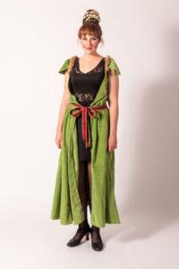 Luxe middeleeuwse jurk -
