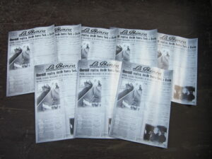 Evita krant - Argentijnse kranten Evita