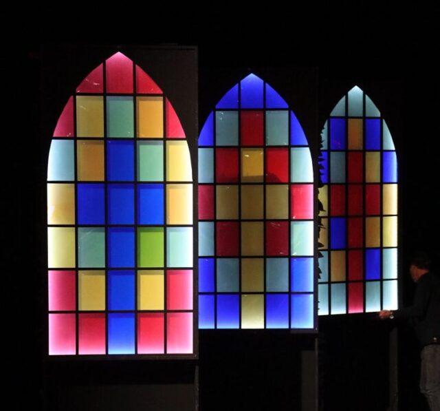 Glas-in-lood kerkramen - Glas-in-lood ramen