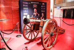 Verrijdbare kanonnen - Kanon voorkant