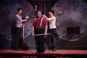 Stookruimte - Stookruimte in scène Titanic de Musical