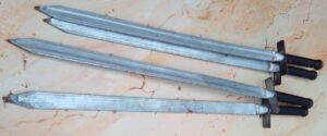 Metalen zwaard - Metalen zwaarden